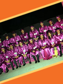The class of 2010- graduation ceremony