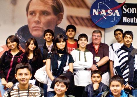 NASA visit