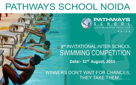 Swimming Banner - 16 x 10 - 001